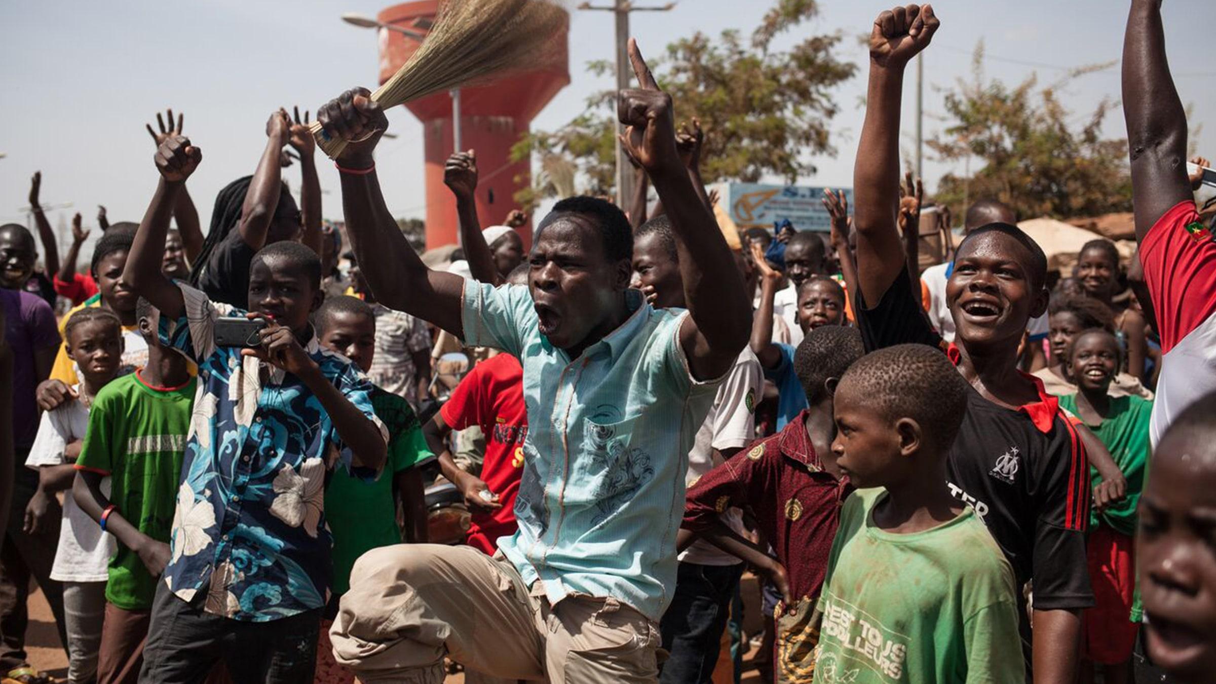 Burkina Faso İsyanda